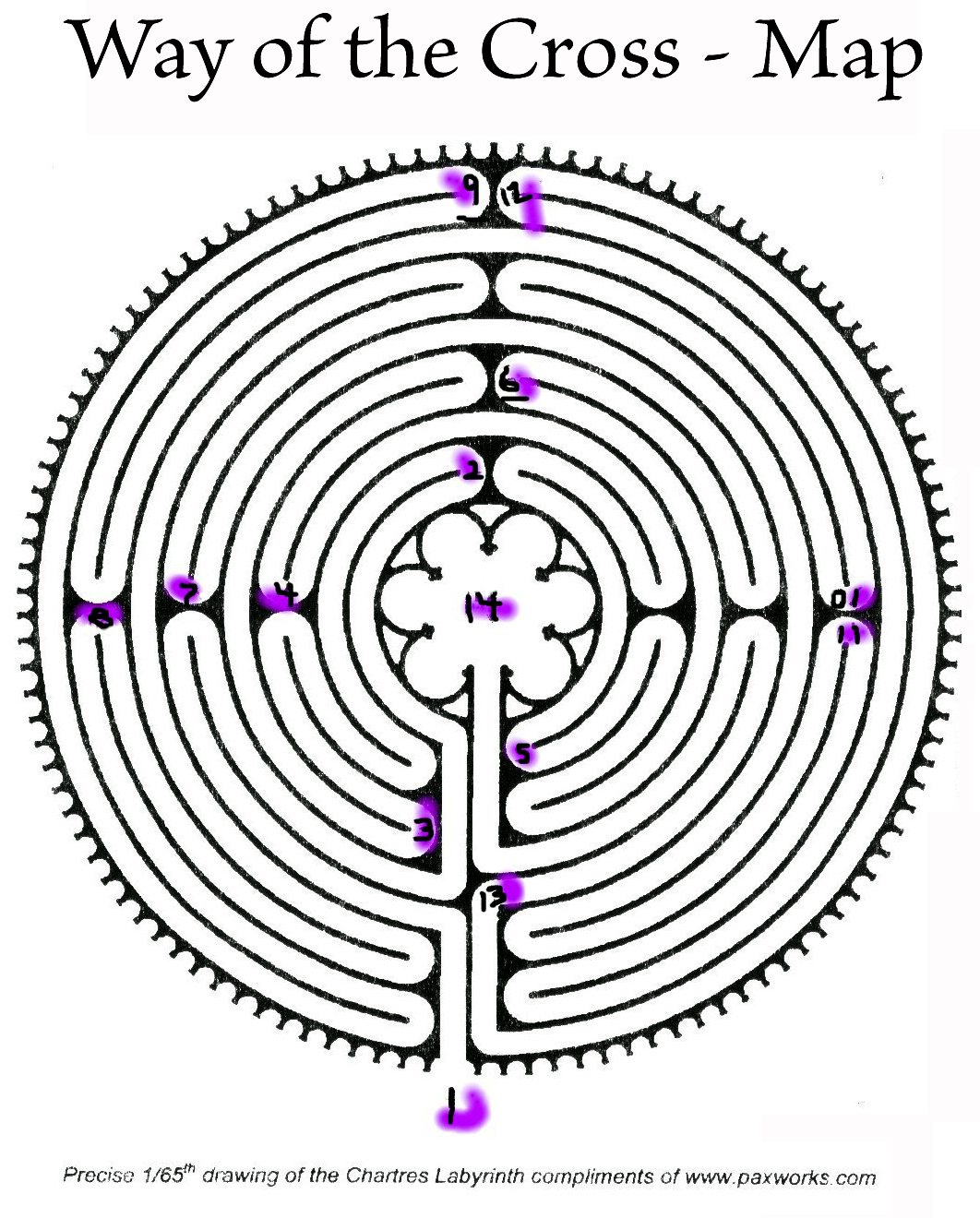 image about Finger Labyrinth Printable called Elements for Labyrinth facilitators